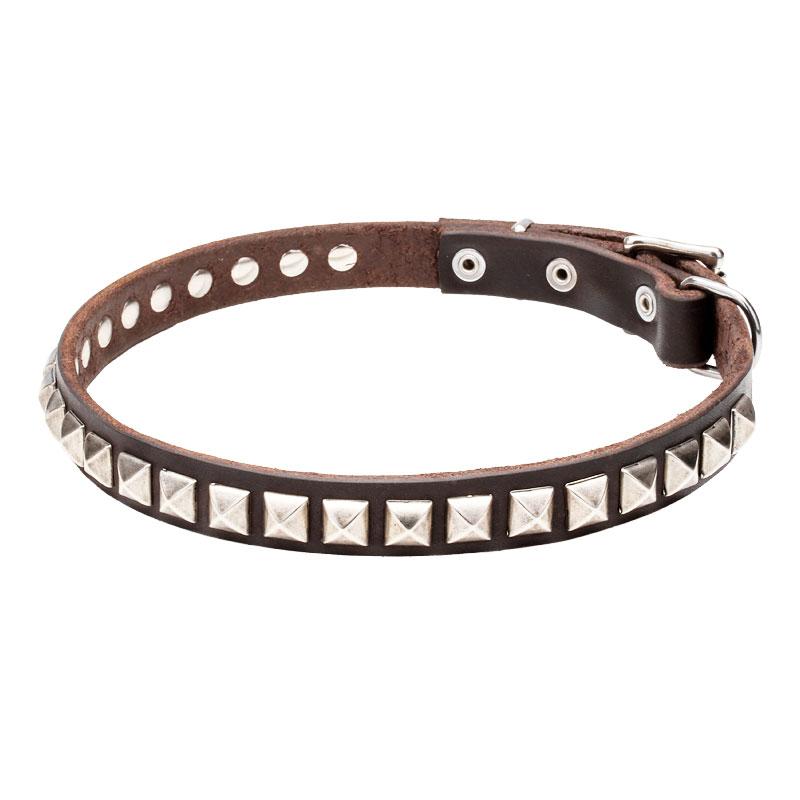 collier pour chien fait main clous royaux c65. Black Bedroom Furniture Sets. Home Design Ideas